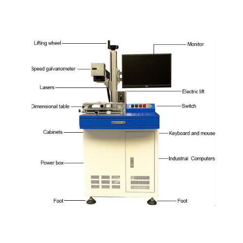Fiber 3D Laser Engraving Machine for Glass