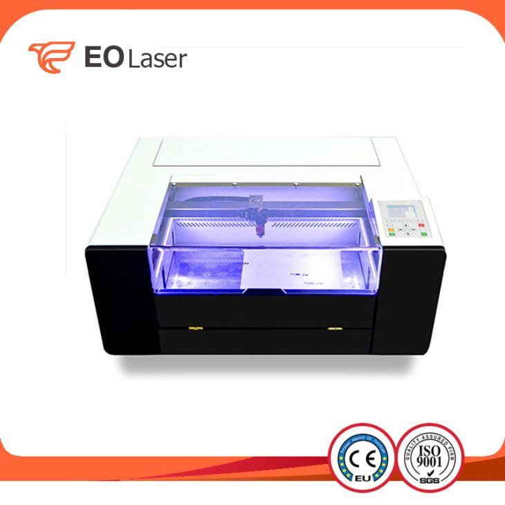 China Photo Wood Stamp Etching Laser Engraving Machine