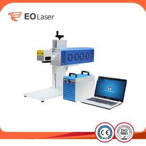 50W Mini Fiber Laser Marking Machine For Metal