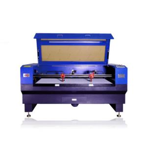 Double Head Camera Positioning Leather Laser Cutting Machine